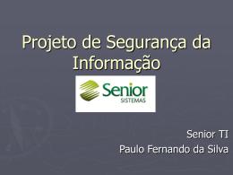 ProjetoSegurançaDaInformação