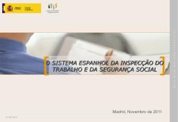o sistema espanhol da inspecção do trabalho e da segurança social