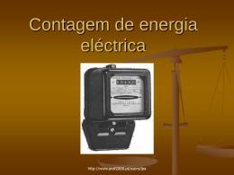 Contagem de energia eléctrica