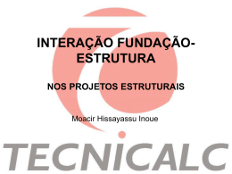 INTEGRACAO FUNDACAO-ESTRUTURA