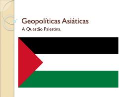 Palestina - Colégio Santa Maria