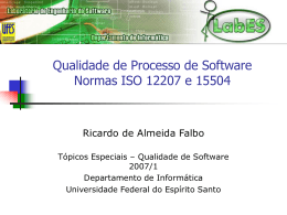 Aula5 - Informática - Universidade Federal do Espírito Santo