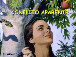 CONFLITO APARENTE