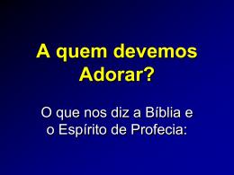 A Historia da Trindade na IASD - Adventistas Históricos do Brasil
