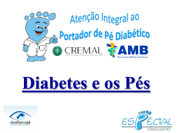 diabetes e os pés - LavaVascular.com