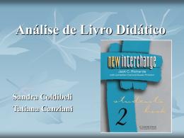 Análise Livro didático - Universidade Federal do Paraná