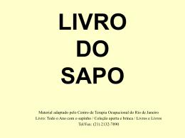LIVRO DO SAPO