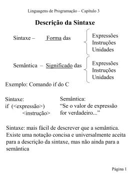Transparências do Capítulo 3 do livro-texto