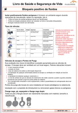 Livro de Saúde e Segurança de Vida