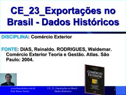 CE_23_Exportacoes_no_Brasil_Dados_Historicos
