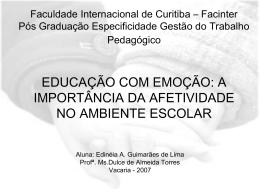 Faculdade Internacional de Curitiba – Facinter Pós