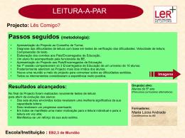 EB 2,3 de Mundão - Plano Nacional de Leitura