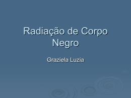 Radiação de Corpo Negro
