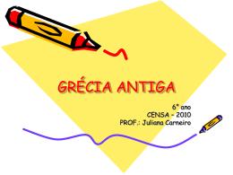GRÉCIA 6 ANO