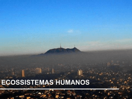 avanços nos ecossistemas humanos