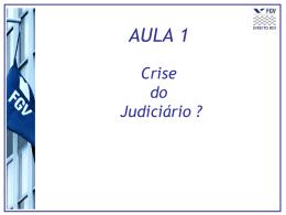 A crise da Justiça. Reformas processuais em sede de recursos