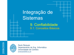 Reliability - Universidade de Coimbra