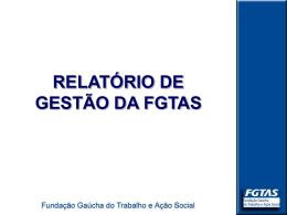 FUNDAÇÃO GAÚCHA DO TRABALHO
