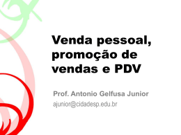 Prof. Antonio Gelfusa Junior - Comunicação e Marketing 2009