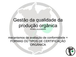 certificação participativa