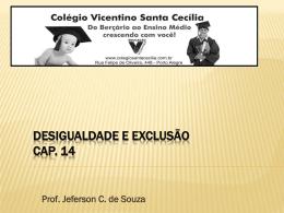 SC - Desigualdade e exclusão