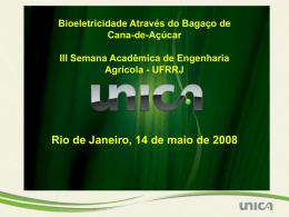 1/3 >> bagaço (bioeletricidade)