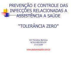 Tolerância zero - Paulo Roberto Margotto