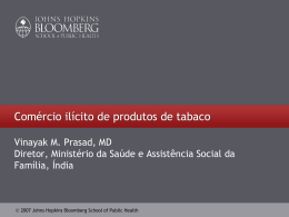 PowerPoint Presentation - Global Tobacco Control