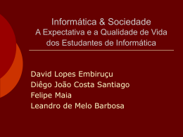 Lógica Proposicional: Sintaxe - Centro de Informática da UFPE