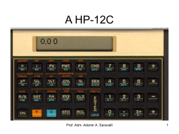 A HP-12C