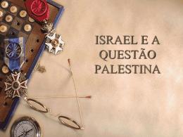 Conflitos entre Israel e Palestina