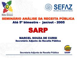 Secretaria Adjunta da Receita Pública