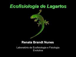 Ecofisiologia de Lagartos