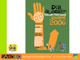 - Dia Global do Voluntariado Jovem