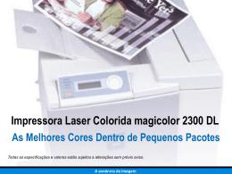 Impressora Laser Colorida magicolor 2300 DL