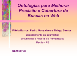 slides - Centro de Informática da UFPE