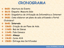 (Plano de aula Fundamental Séries Iniciais).