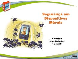 Fasciculo Dispositivos Móveis - Cartilha de Segurança para Internet