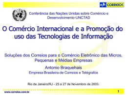Antonio Braquehais, CORREIOS, Brazil