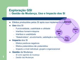 Aula 15: Exploração GSI