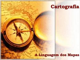 a linguagem dos mapas - Cursinho Gratuito Primeiro de Maio