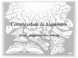 ComplexidadeAlgoritmos
