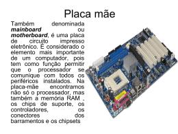 Placa mãe - ContilNet.com.br