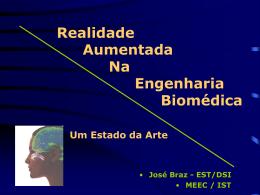 Realidade Aumentada na Engenharia Biomédica: um Estado da Arte