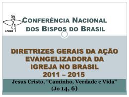 Diretrizes Gerais CNBB 2011-2015
