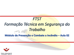 FTST 2013 PCI Aula 0..