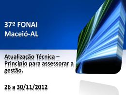 29.11 - Palestra Cleison Faé - FONAI-MEC