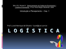 Slide 1 - Logística Empresarial