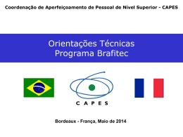 Bolsas no país - CAPES - Coordenação de Aperfeiçoamento de