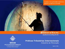 Ernst & Young - Práticas Tributárias Internacionais da